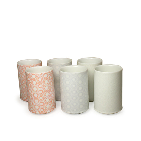 suuun Sake Cups set of 6