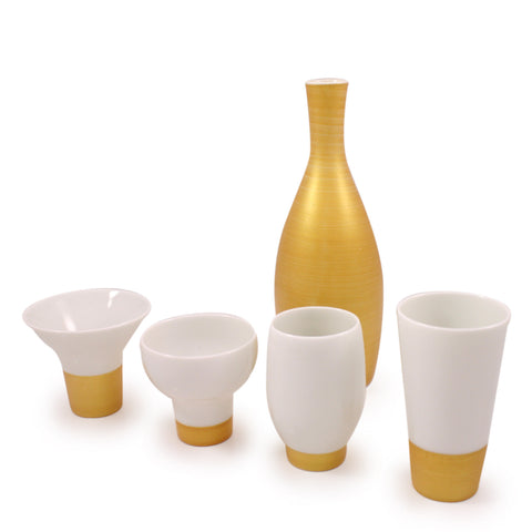 Gold Cool Japan Sake Set Large