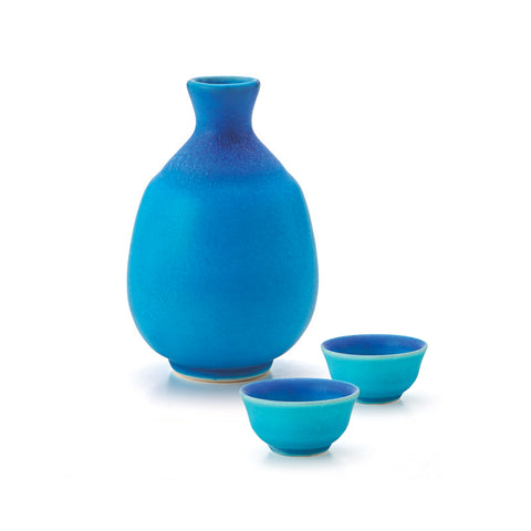 Turkey Glaze Sake Set
