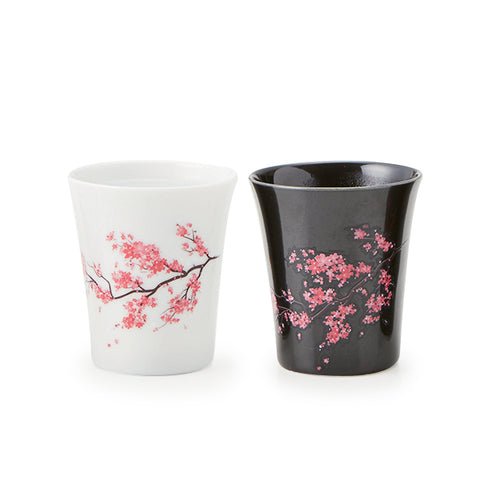 Color Changing Sakura Sake Cup set of 2