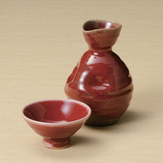 CINNABAR - Clay of Shigaraki (Earthenware)
