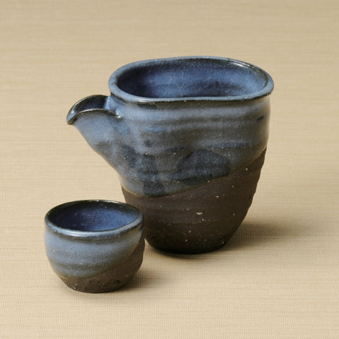 AZURE - Clay of Shigaraki (Earthenware)