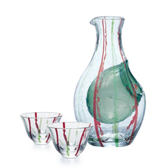 Red Line Cold Sake Wa Glass Set