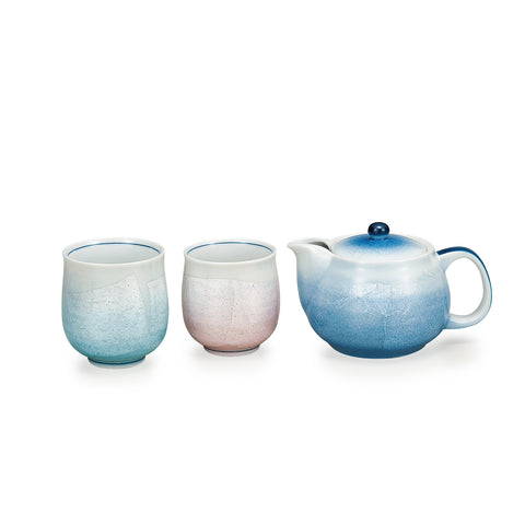 Ginsai Kutani Ware Tea Set Type B