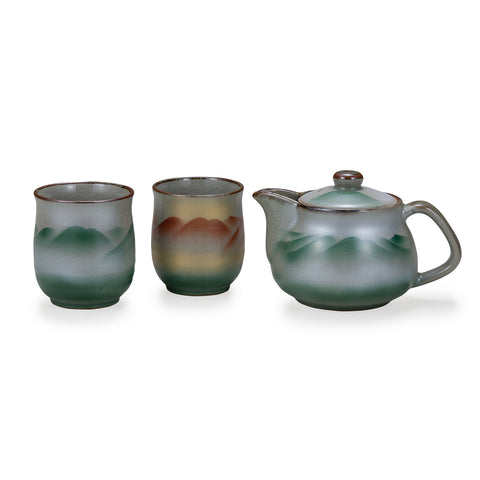 Mountain Kutani Ware Tea Set