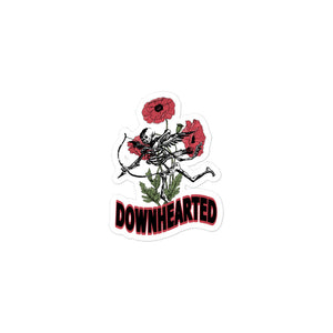 Downhearted Sticker