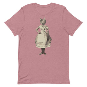Fille Chat T-Shirt