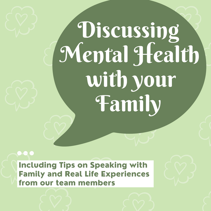 Discussing your Mental Health with Family