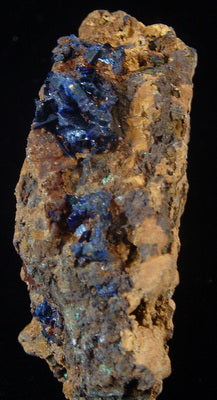 Azurite - Tinghir Province, Morocco (MS-2441c)
