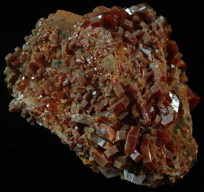 Vanadinite float - Mibladen Morocco (MS-2611c)