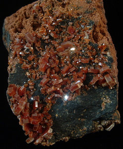 Vanadinite - Mibladen Morocco (MS-2611d)