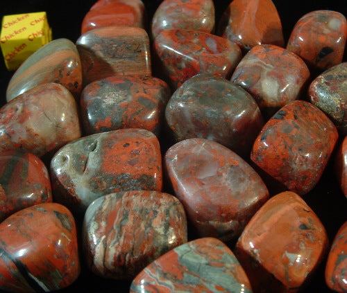 Tumbled Brecciated Jasper