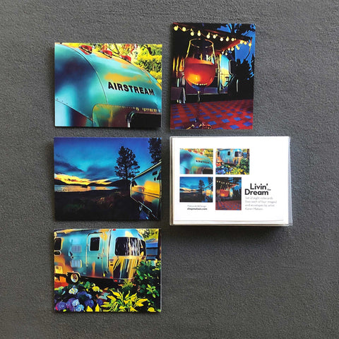 Airstream Photo-Art Note Card Set of 8 - Shop Matson