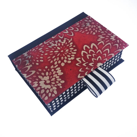 Floral Batik Paper Keepsake Box - Shop Matson