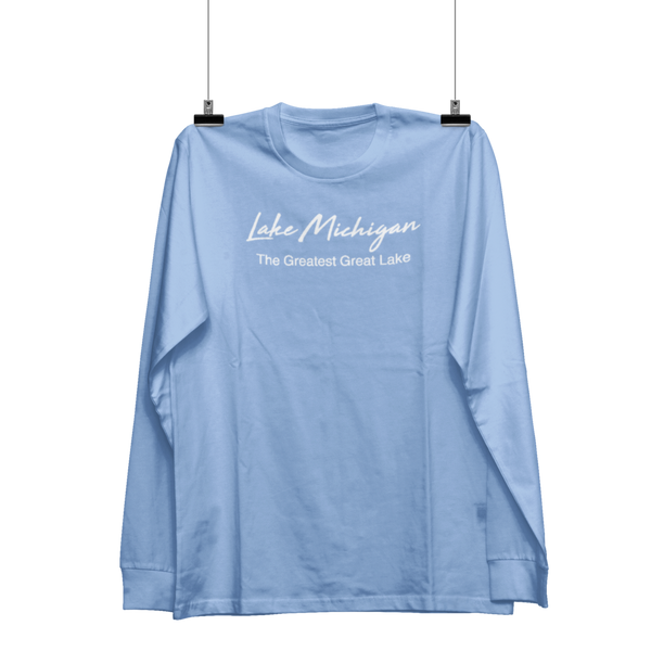 Lake Michigan/Greatest Long-Sleeve T-Shirt - Shop Matson