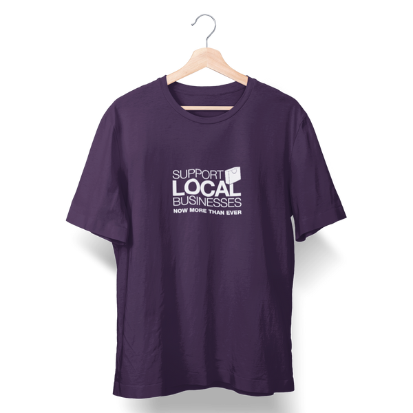 Support Local Businesses T-Shirt - Shop Matson