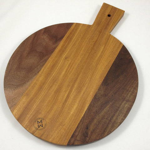 Round Cutting Board & Server