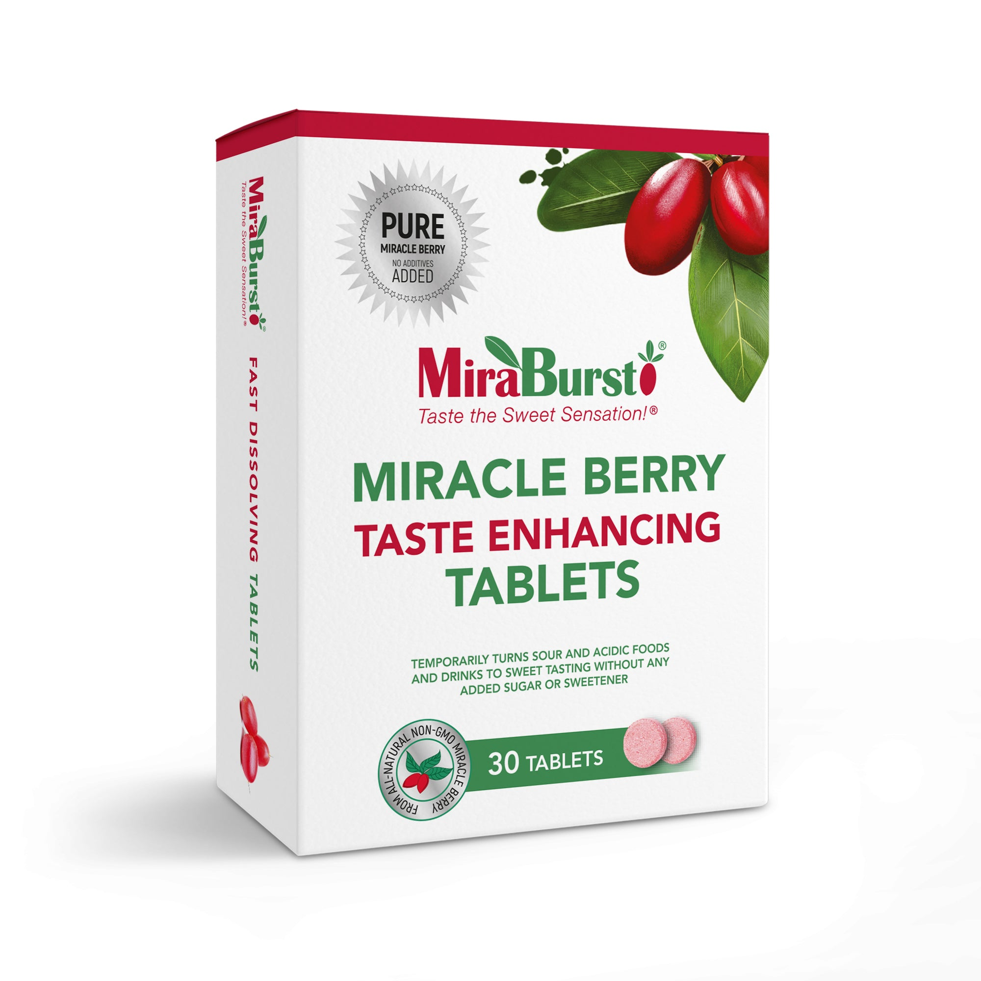 MiraBurst® Taste Enhancing Tablets 30 pack