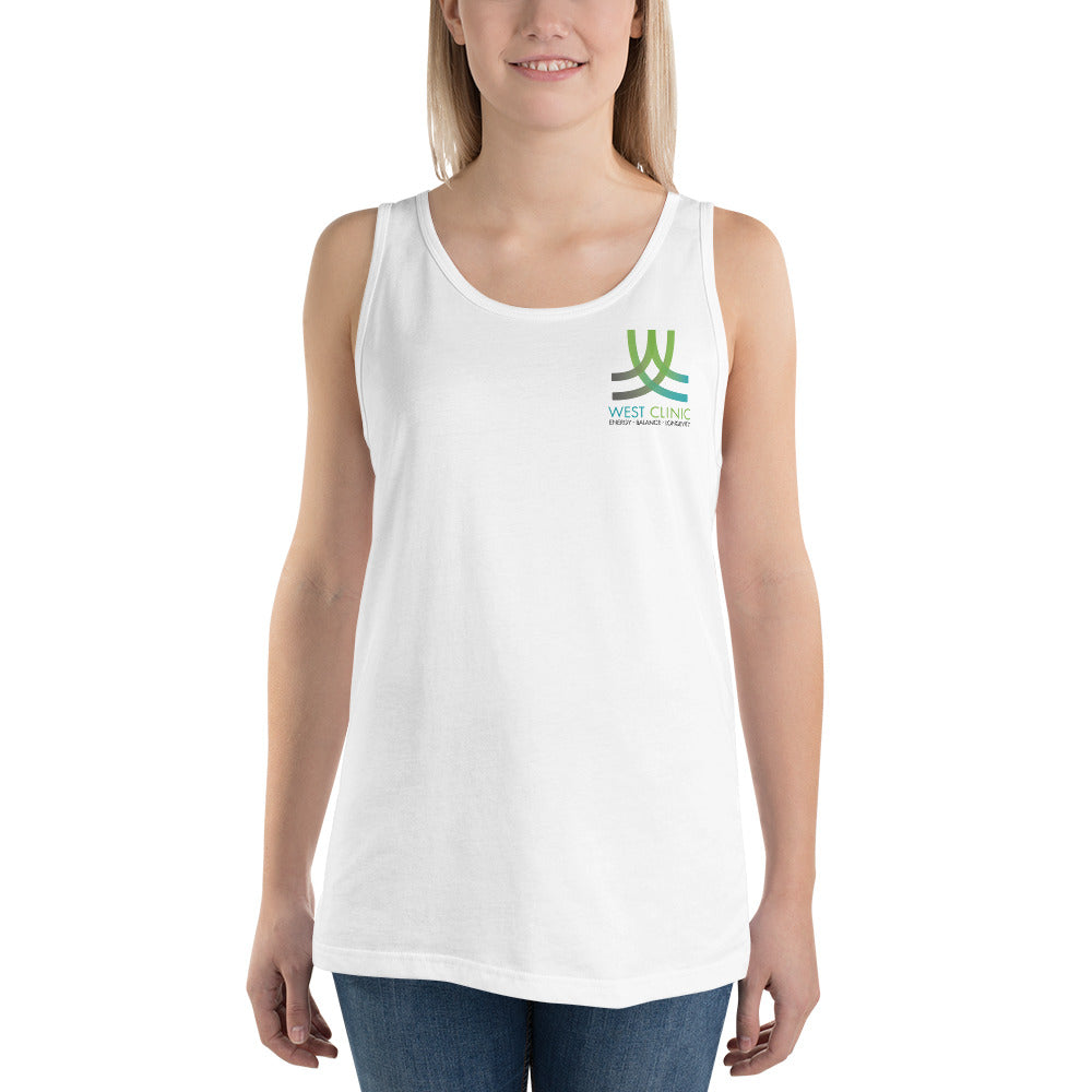 West Clinic Unisex Tank Top