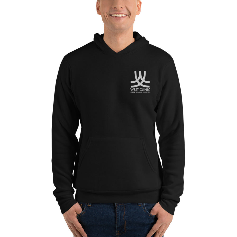 West Clinic Unisex hoodie