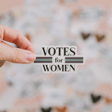 Load image into Gallery viewer, Votes for Women sticker