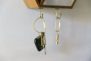 Oversized Key Rings