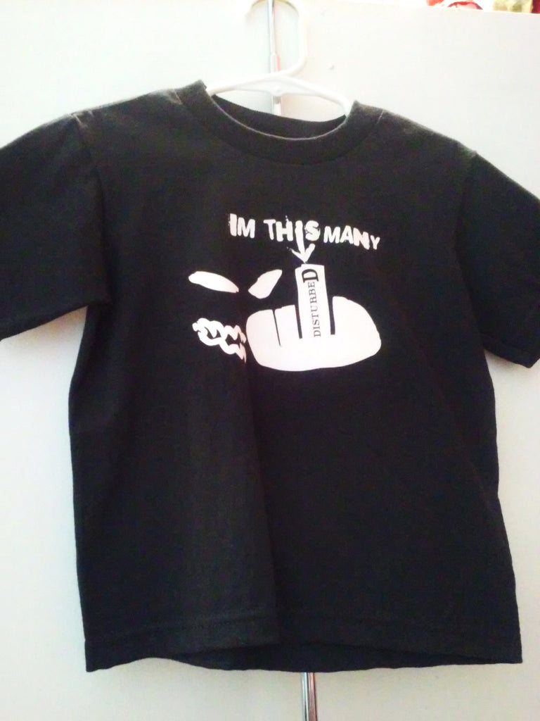 "Disturbed ""I'm this Many"" Toddler T-shirt"
