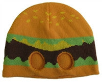 Hamburger Half Mask Knit Hat
