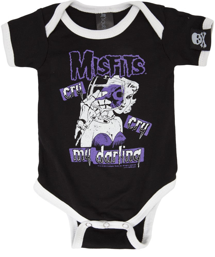 Misfits Cry Cry My Darling onesie