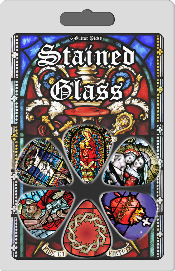 Stained Glass Window Collectible Guitar Picks