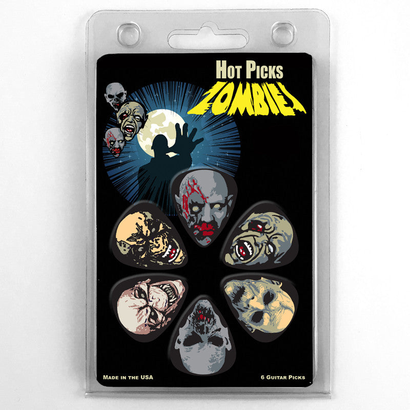 Zombies Collectible Guitar Picks