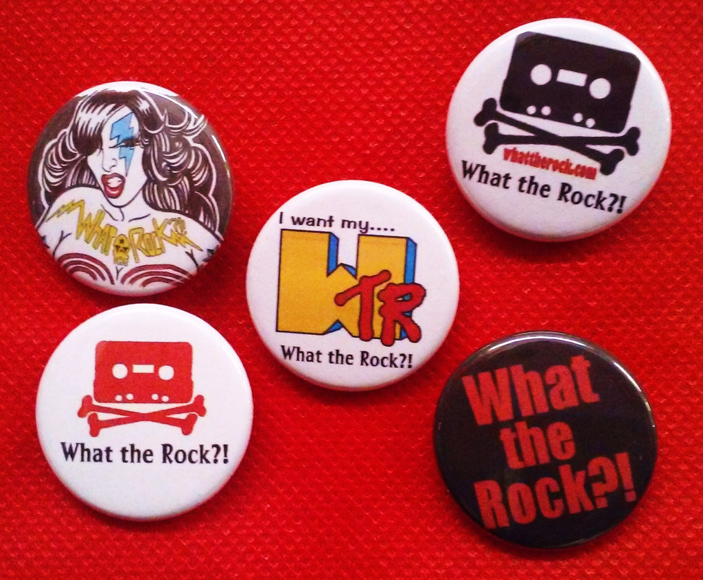 What the Rock?! Button Pack