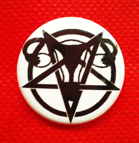 Femetal Pentagram Button (5 pack)