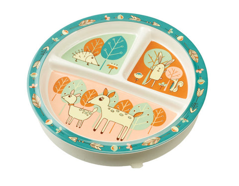 Divided Suction Plate--Baby Deer