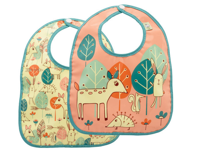 Baby Deer Mini Bib Gift Set of 2