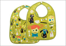 Baby Zombie Mini Bib Gift Set of 2