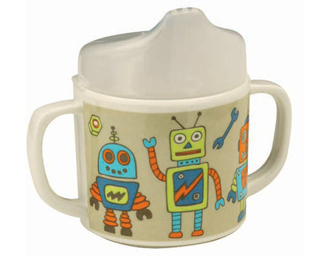 Retro Robot Sippy Cup