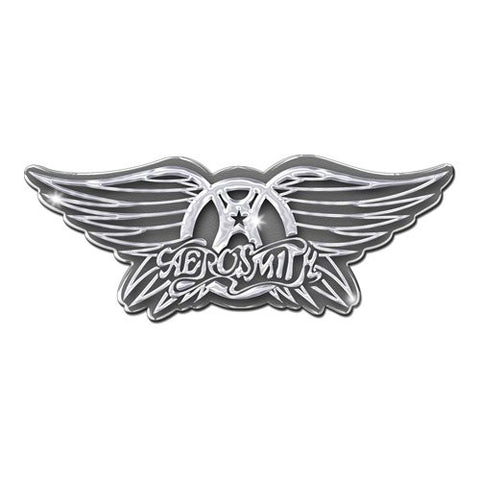 "Aerosmith ""Get Your Wings"" metal pin"