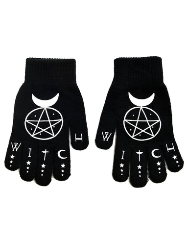 Witch knit gloves