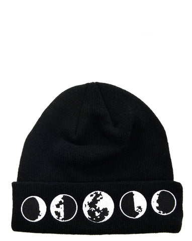 Moon Phases Beanie