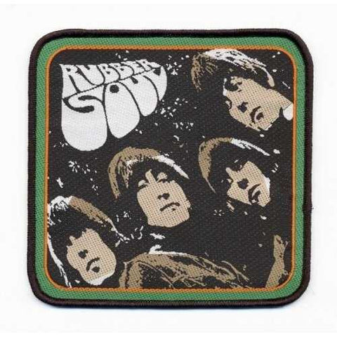 The Beatles Rubber Soul Album Patch