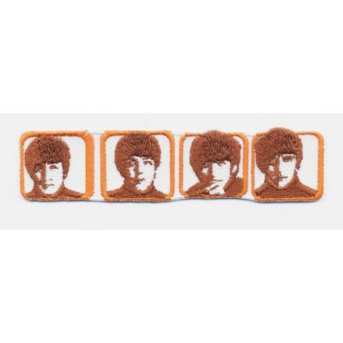 The Beatles Heads in Boxes Patch