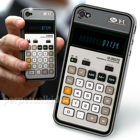 Re/Cover iPhone Case--Old School Calculator--SALE!!!!