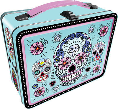 Sugar Skulls Embossed Lunchbox