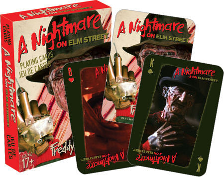 Nightmare on Elm St. playing cards