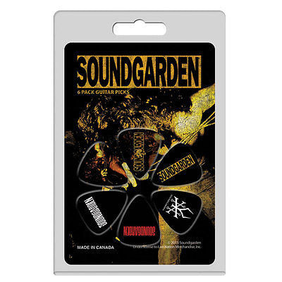 Soundgarden guitar picks