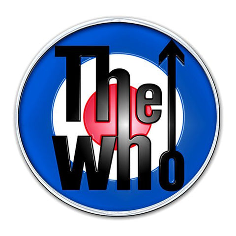 The Who enamel pin badge
