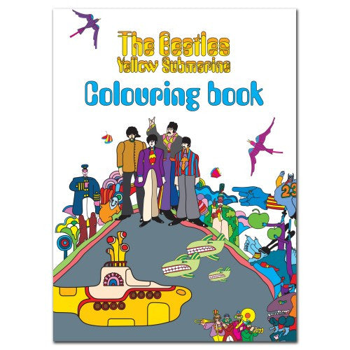 The Beatles Yellow Submarine Colouring Book