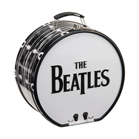 Beatles Drum Shaped Tin Tote