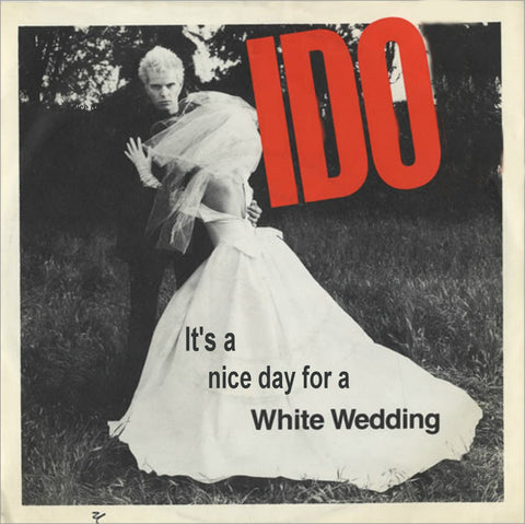 Billy Idol Wedding Card